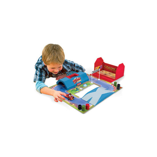 Roary the Racing Car - Die Cast Garage and Race Track Set