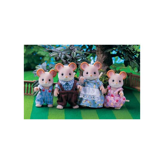 Sylvanian Families - Maces Mouse Family