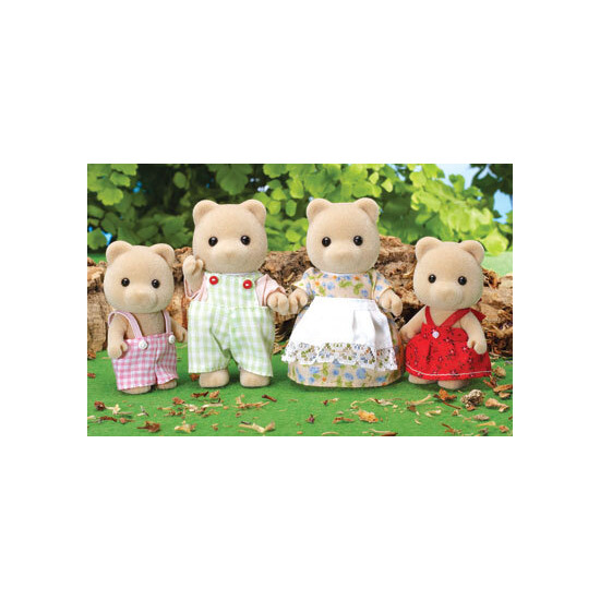 Sylvanian Familes - Honey Bear Family