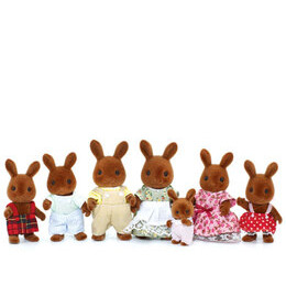 Sylvanian Families - Celebration Brown Rabbits Family Reviews
