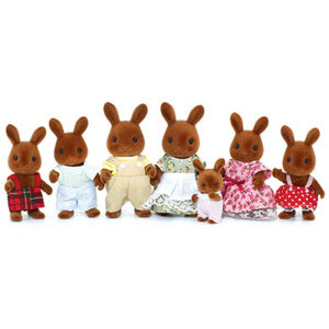 Photo of Sylvanian Families - Celebration Brown Rabbits Family Toy