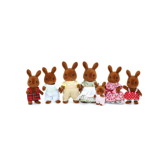 Sylvanian Families - Celebration Brown Rabbits Family