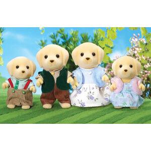 Photo of Sylvanian Families - Golden Labrador Family Toy