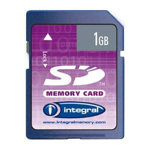 Photo of INTEGRAL CAM-SD1GB-MLC Memory Card