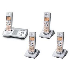 Photo of Panasonic KX-TG 7124 ES QUAD Landline Phone