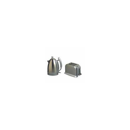 BELLINI BECP40 POLISHED S/STEEL KETTLE & TOASTER PACK