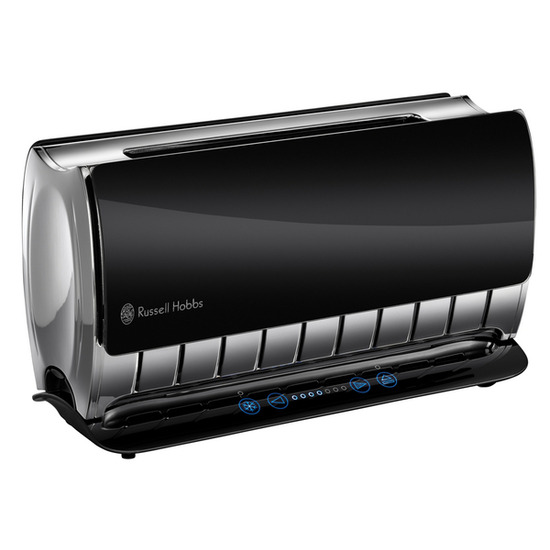 Russell Hobbs Glass Touch 2-Slice Toaster - Black