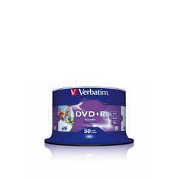 VERBATIM DVD+R 16X 50PK Reviews