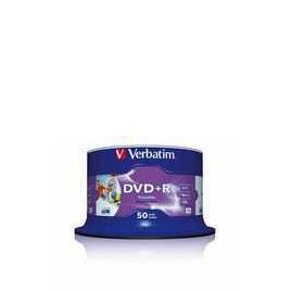 VERBATIM DVD+R 16X 50PK Reviews