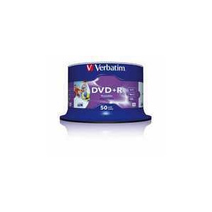 Photo of VERBATIM DVD+R 16X 50PK DVD R