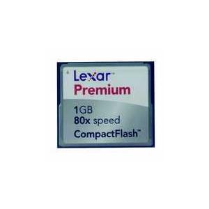Photo of Lexar Premium COMPACTFLASH1G Memory Card