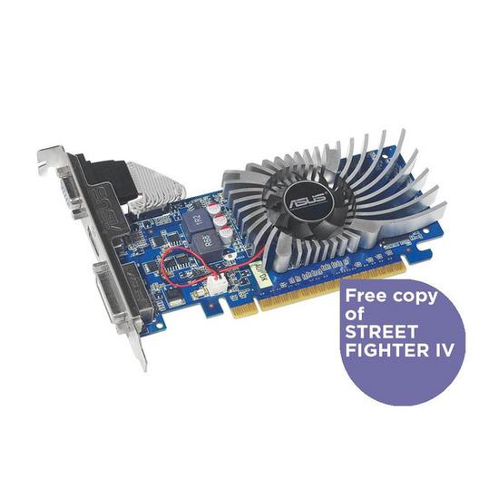 ASUS ENGT520/DI/1GD3/V2(LP) PCI-E 2.0 Graphics Card _ 1GB