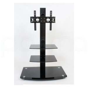 Photo of Demagio Gloss Black Cantilever TV Stand For Screens Up To 40 TV Stands and Mount
