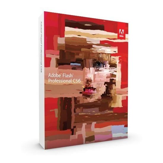 Adobe Flash CS6 Pro Upgrade (PC)