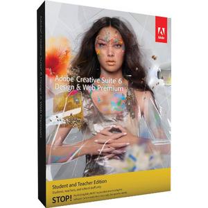 Photo of Adobe CS6 Design and Web Prem Mac Student & Teacher Software