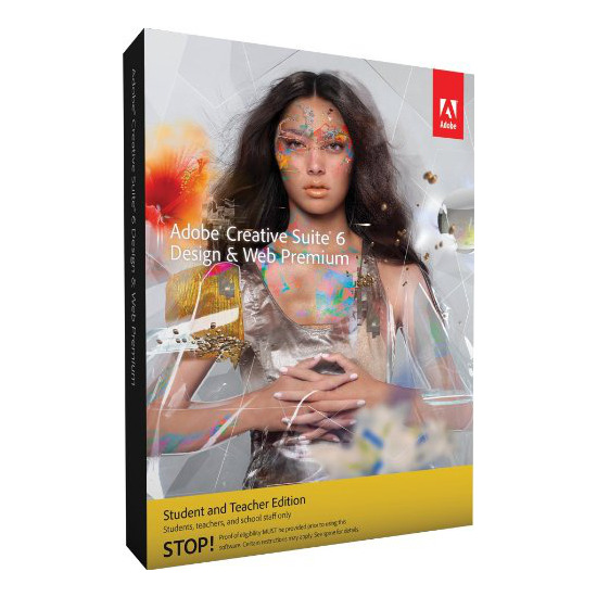 Adobe CS6 Design and Web Prem Mac Student & Teacher