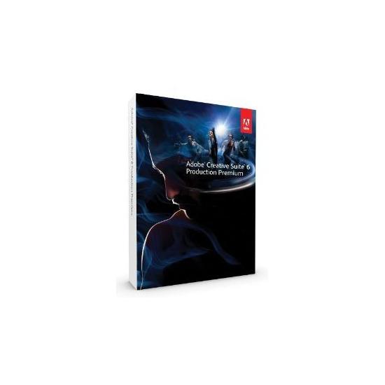 Adobe Creative Suite 6 Production Premium Upgrade PC