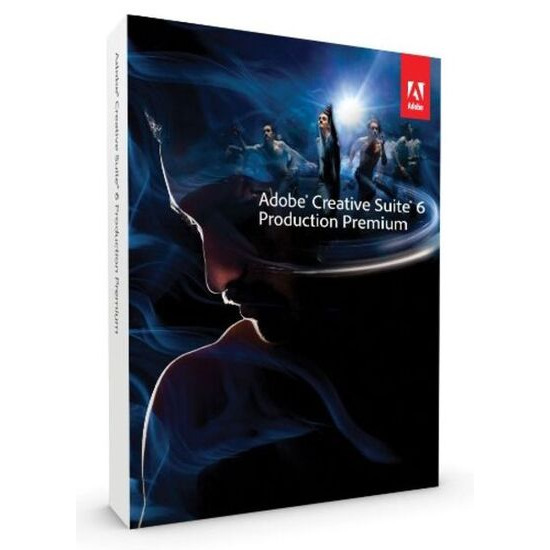 Adobe Production Premium CS6 upgrade from CS5.5 (Windows)