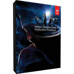 Adobe Creative Suite 6 Production Premium Upgrade (from CS5.5) MAC