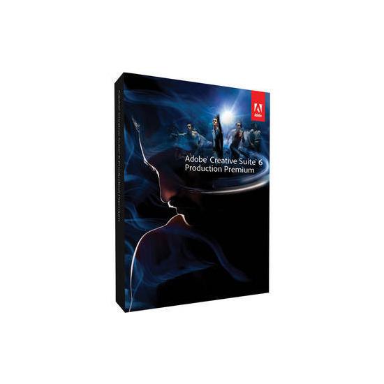Adobe Creative Suite 6 Production Premium Upgrade (from CS5.5) MAC