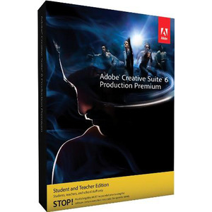 Photo of Adobe Creative Suite 6 Production Premium Student and Teacher Version (MAC) Software
