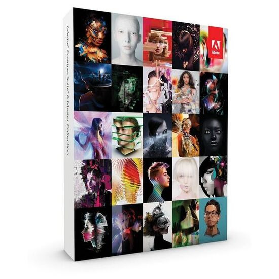 Adobe Creative Suite 6 Master Collection PC
