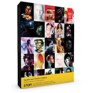 Photo of Adobe Creative Suite 6 Master Collection Student and Teacher PC Software