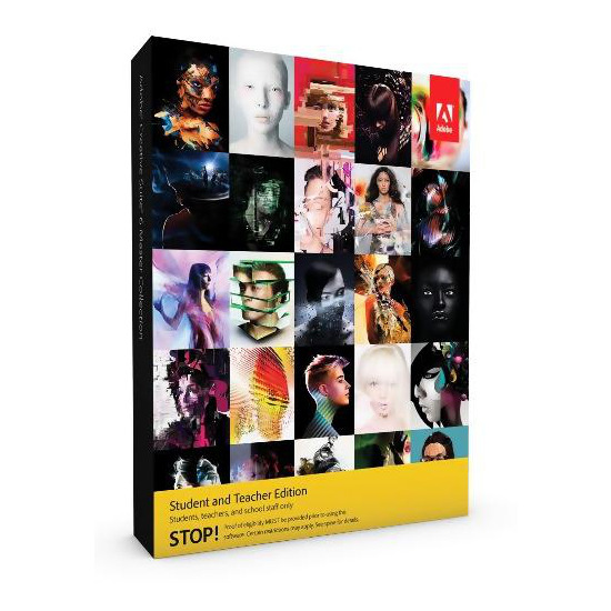 Adobe Creative Suite 6 Master Collection Student and Teacher PC