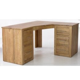 Solid Ash Corner Desk (Right)- With Filing Cabinet and Drawer Reviews