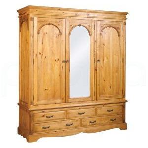 Photo of Regency Triple Wardrobe Furniture