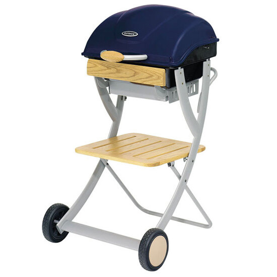 Outback Omega 100 Hooded Charcoal BBQ