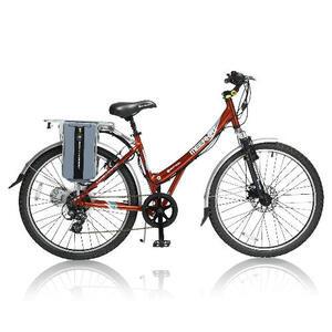 "Photo of Meerkat Metro Electric 26"" Bicycle"