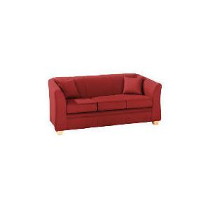 Photo of Kensal Large Sofa, Red Furniture