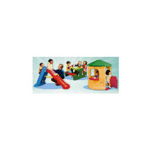 Photo of Little Tikes Cosy Cottage, Picnic Table & Slide Toy