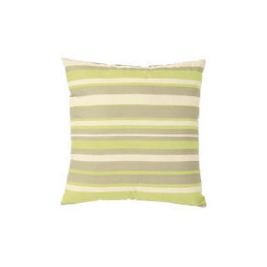 Photo of Tesco Stripe Cushion, Lime Cushions and Throw