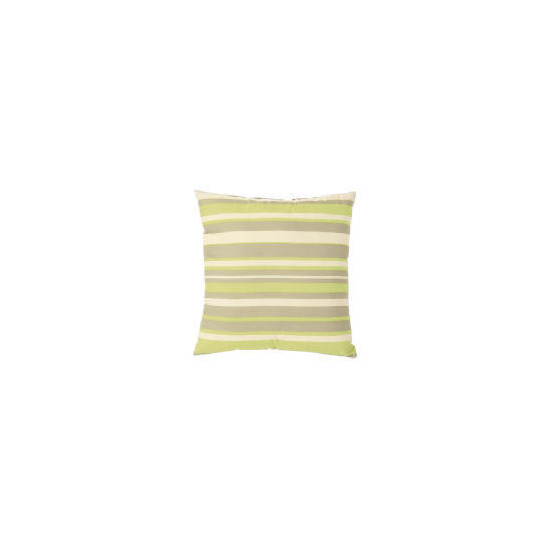 Tesco Stripe Cushion, Lime