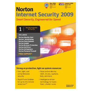 Photo of Norton Internet Security 2009 2 User Software
