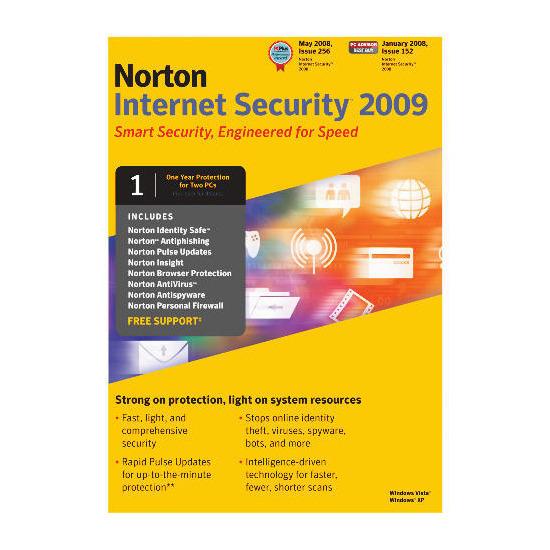 Norton Internet Security 2009 2 user