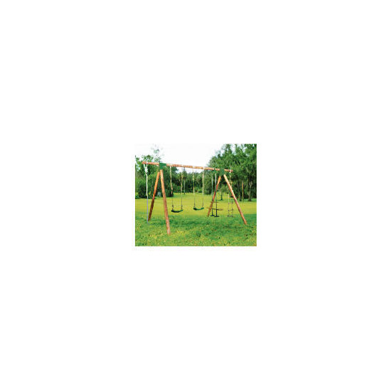 Selwood Timo Wooden Swing Set