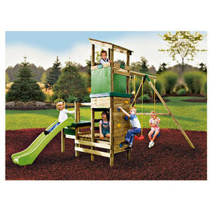 Photo of Little Tikes London Wooden Swing N Slide Set Toy