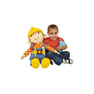 Photo of Giant Bob The Builder Giant Soft Toy Toy