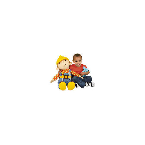 Giant Bob The Builder Giant Soft Toy