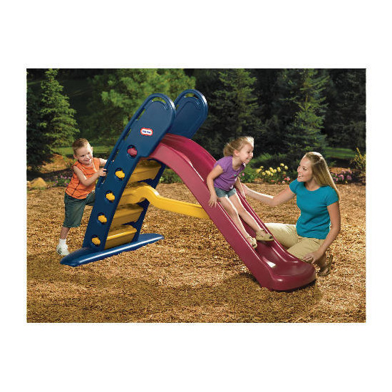 Little Tikes Giant Slide - Red & Blue