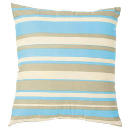 Tesco Stripe Cushion, Aqua Reviews