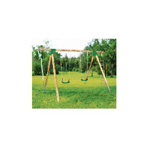 Photo of Selwood Matis Wooden Swing Set Toy