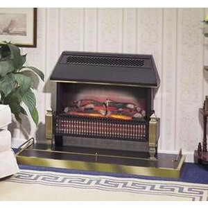 Photo of Dimplex  Lyndhrust 2KW 71CM Radiant Bar Electric Fire With Stylish Black Canopy Electric Heating
