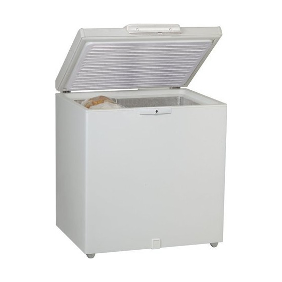 Whirlpool 207 litre Chest Freezer - White