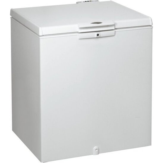 Whirlpool 207 litre Chest Freezer in White