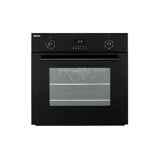 Beko 60cm Electric Single Oven - Black