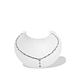 9K W/G Diamond Collar (0.31ct) Necklace Reviews